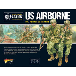 US Airborne. Bolt Action Starter Army.