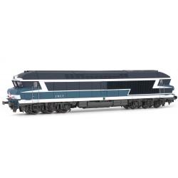 Diesel locomotive CC 72000, SNCF.