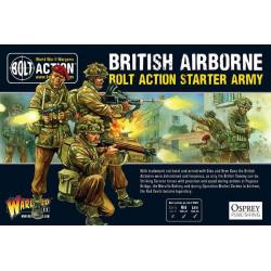 Ejército aerotransportado británico. Bolt Action Starter Army.