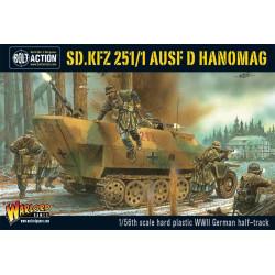 Sd.Kfz 251/1 ausf D halftrack. Bolt Action.