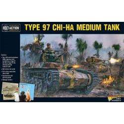 Chi-Ha Japanese tank. Bolt Action.