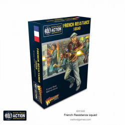 French Resistance Squad. Bolt Action.