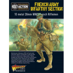 French Army Infantry section. Bolt Action.