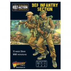 Sección de Infantería BEF. Bolt Action.