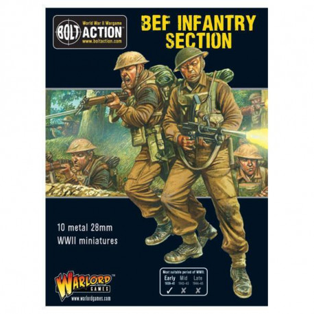 BEF Infantry Section. Bolt Action.