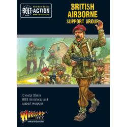 Grupo de apoyo British Airborne. Bolt Action.