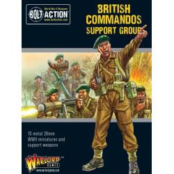 Grupo de apoyo de comandos británico. Bolt Action.