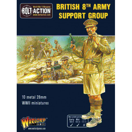 8th Army support group. Bolt Action.