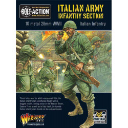 Sección del ejército italiano. Bolt Action.
