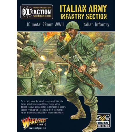Italian Army section. Bolt Action.