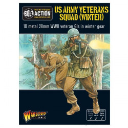 US Army Veterans Squad (Winter). Bolt Action.