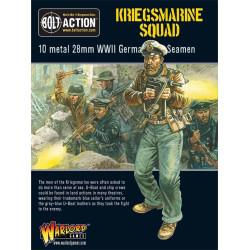 Kriegsmarine Squad. Bolt Action.