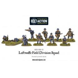 Escuadrón de la División de Campo de la Luftwaffe. Bolt Action.