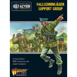 Fallschirmjager support group. Bolt Action.