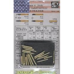 U.S. Army 76 mm and 3 inch ammunition. AFV CLUB 35018