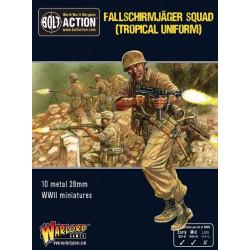 Fallschirmjager squad (tropical Uniform). Bolt Action.
