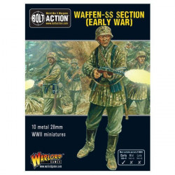 Early War Waffen-SS squad. Bolt Action.