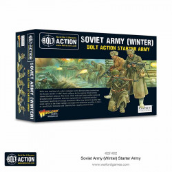 Ejército soviético (invierno). Bolt Action Starter Army.
