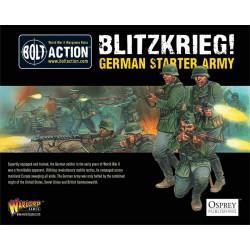 Blitzkrieg Ejército alemán. Bolt Action Starter Army.