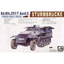 Semioruga alemán Sd. Kfz. 251/7 Ausf. C. AFV CLUB 35077