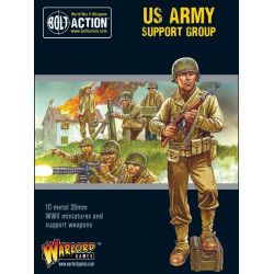 US Army support group. Bolt Action.