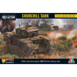 Churchill Tank. Bolt Action.