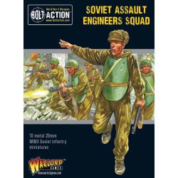 Escuadrón de ingenieros de asalto soviéticos. Bolt Action.