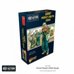 Escuadrón de la milicia de los pueblos soviéticos. Bolt Action.