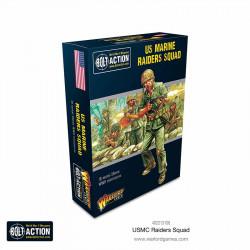 Escuadrón de marine raiders de EE. UU. Bolt Action.