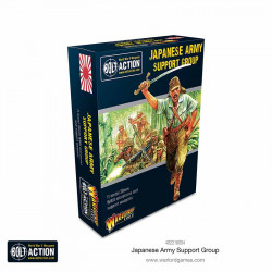 Japanese army support group. Bolt Action.