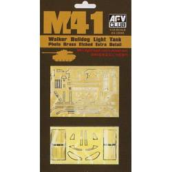 Photo-Etched parts set for M41. AFV CLUB AG35008