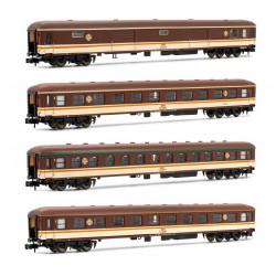 Set de cuatro coches 8000 ''Estrella'', RENFE.