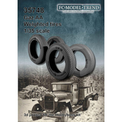 GAZ AA weighted tires.