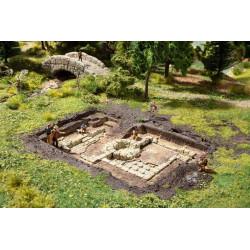 Roman Baths Excavation.