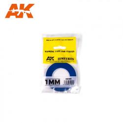 Blue masking tape. 1,0 mm.