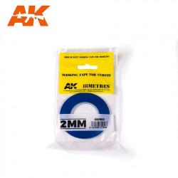 Blue masking tape. 2,0 mm.
