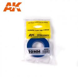 Blue masking tape. 10,0 mm.