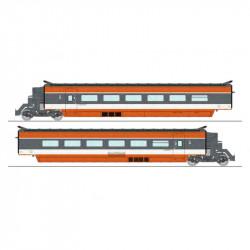TGV PSE, Rama 69, 2 coches. SNCF.