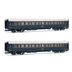 "Sleeping car ""Venice Simplon Orient Express"", CIWL (x2)."