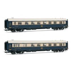 "Dinning car ""Venice Simplon Orient Express"", CIWL (x2)."
