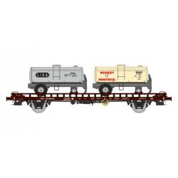 Wagon type UFR Sida/Bourgey, SNCF.