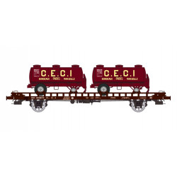 Plataforma UFR porta-remolque CEGI, SNCF.