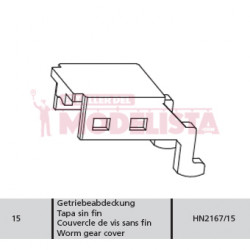 Worm gear cover RENFE 592.