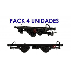 Unified frame with vacuum brake, RENFE (x4).