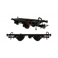 Unified frame with vacuum brake, RENFE.