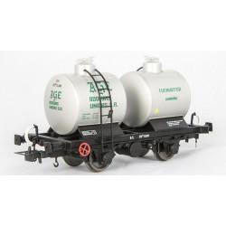 Vagón cisterna bicuba AGE, RENFE.