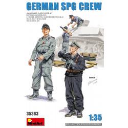 Tripulación alemana SPG.