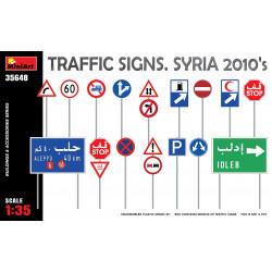 Traffic signs. Syria.
