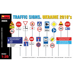 Traffic signs. Ukraine.