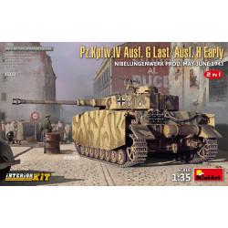 Pz.Kpfw.IV Ausf. G Last/Ausf. H Early.